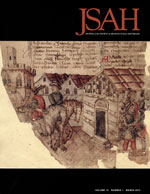 JSAH, Volume 72, Number 1, March 2013