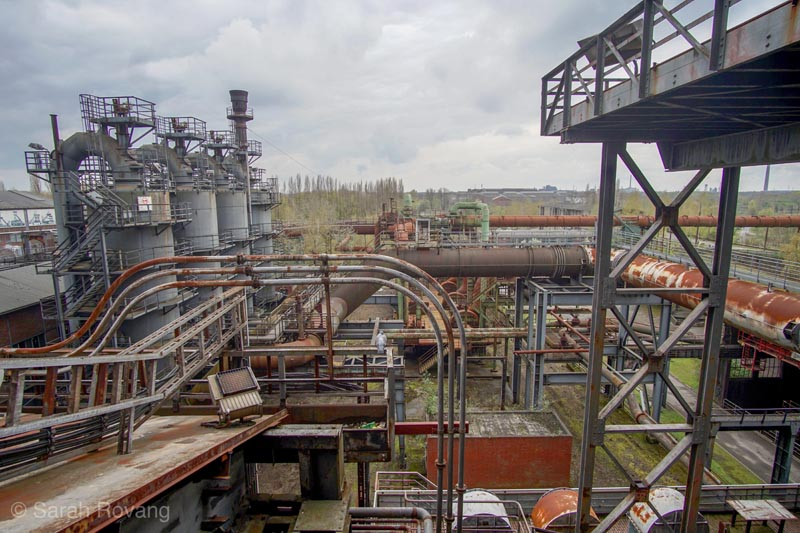 3dd171702a291 North Landscape Park in Duisburg is located on the site of the former  Thyssen ironworks
