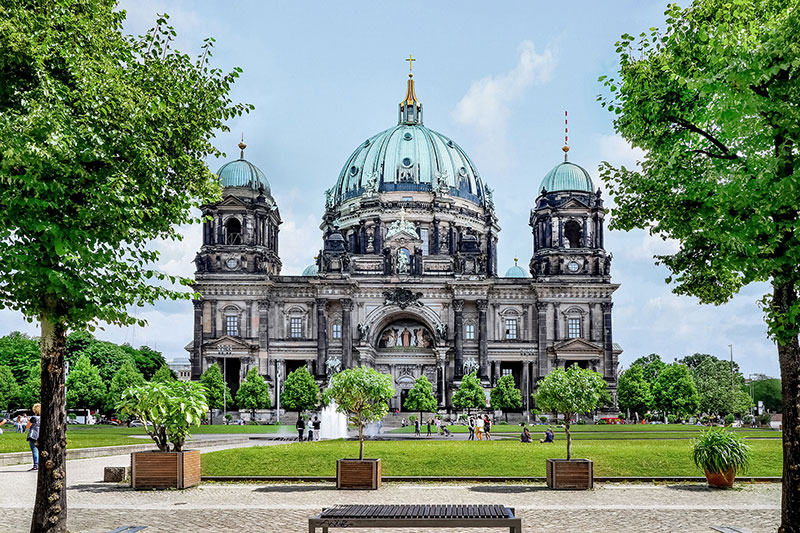 exterior Berlin Cathedral