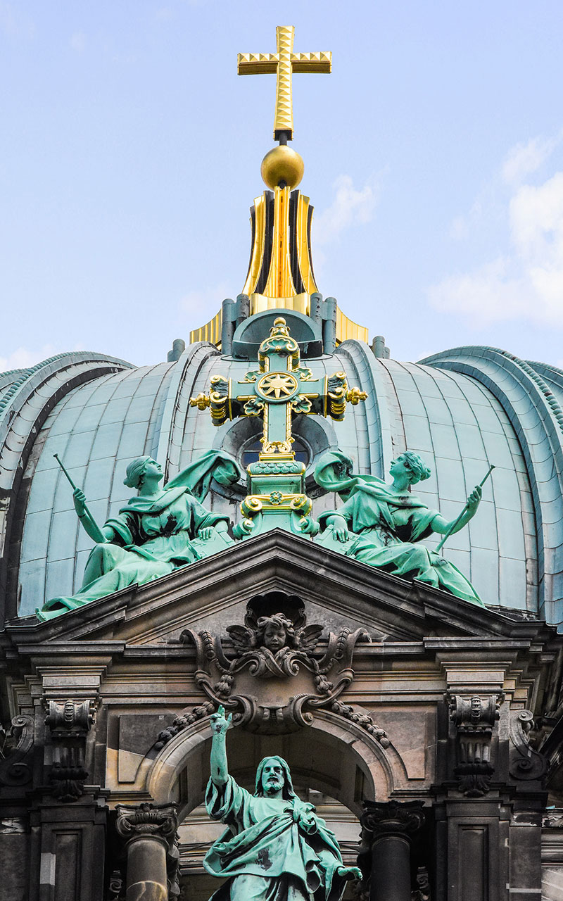 Berlin Cathedral cross