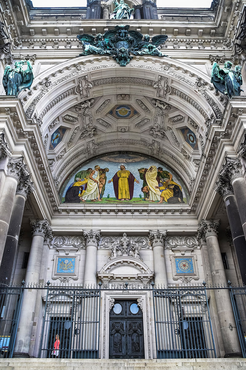 Berlin Cathedral entrance