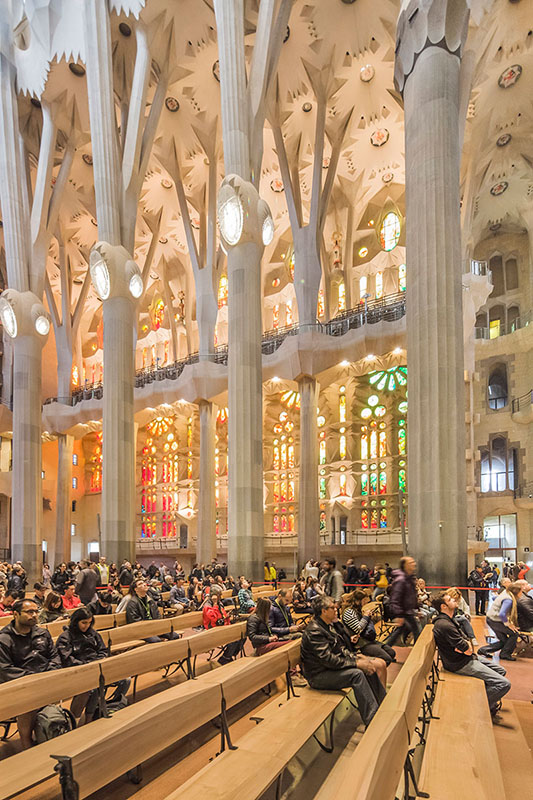 La Sagrada Famlia A Testament of Architectural Ingenuity