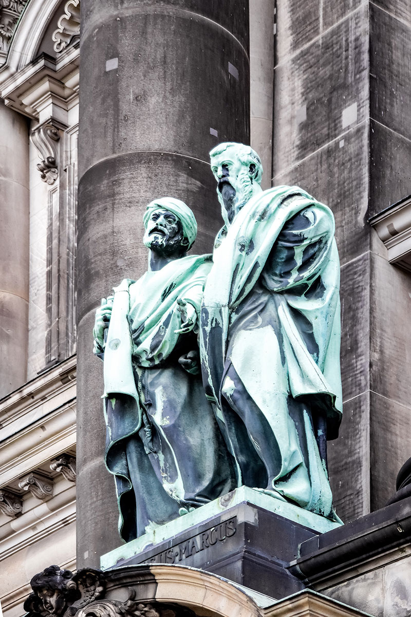 Berlin Cathedral Matthew and Mark