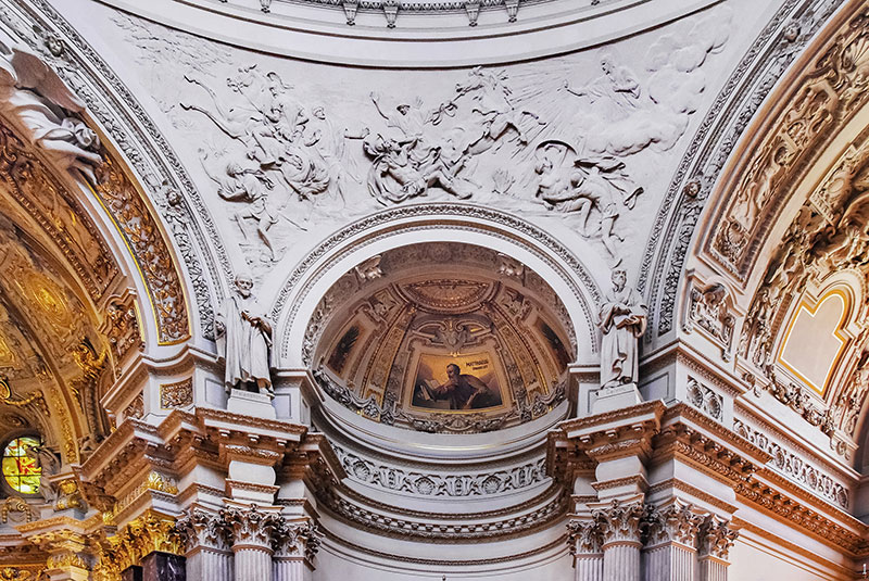 Berlin Cathedral niche