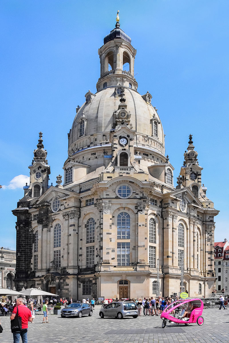 The Frauenkirche Dresden Cathedral