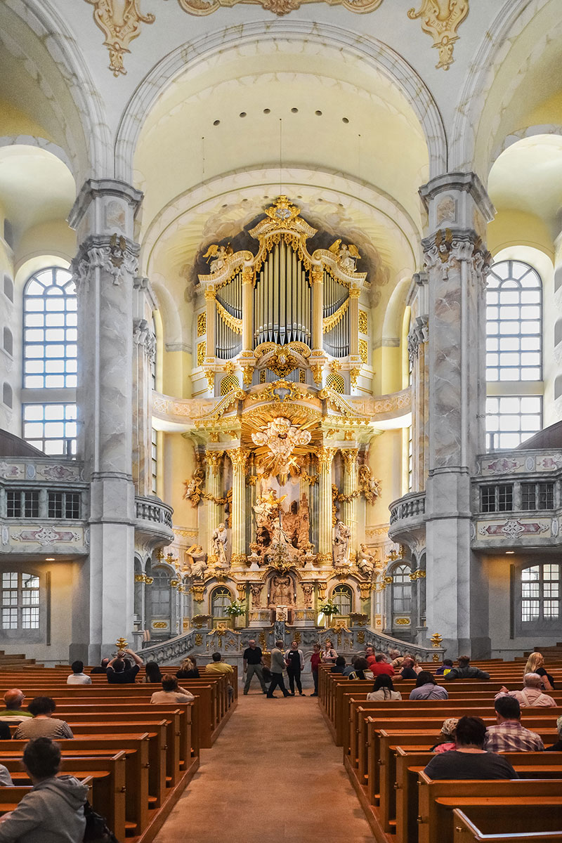 Dresden Cathedral altar