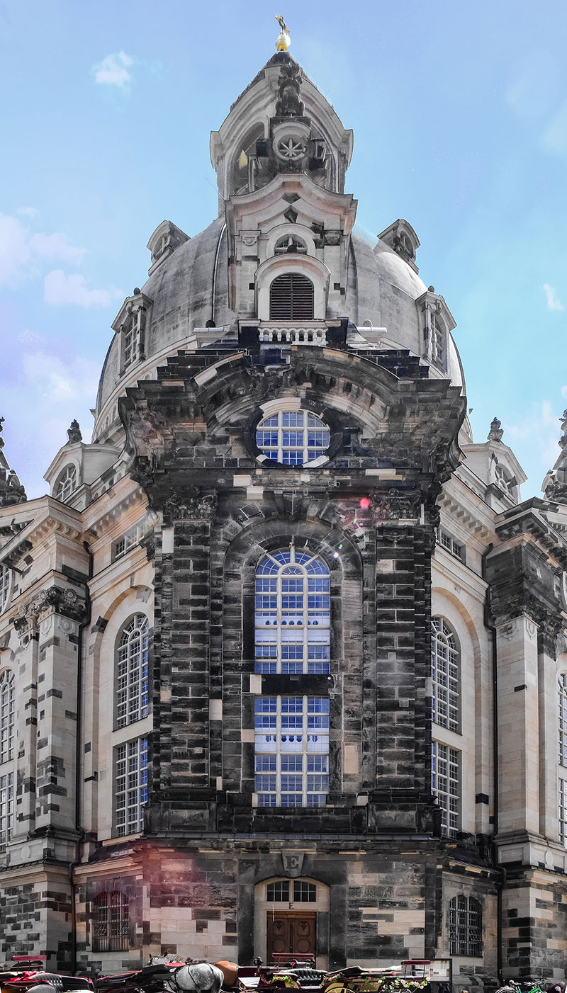 Dresden Cathedral exterior