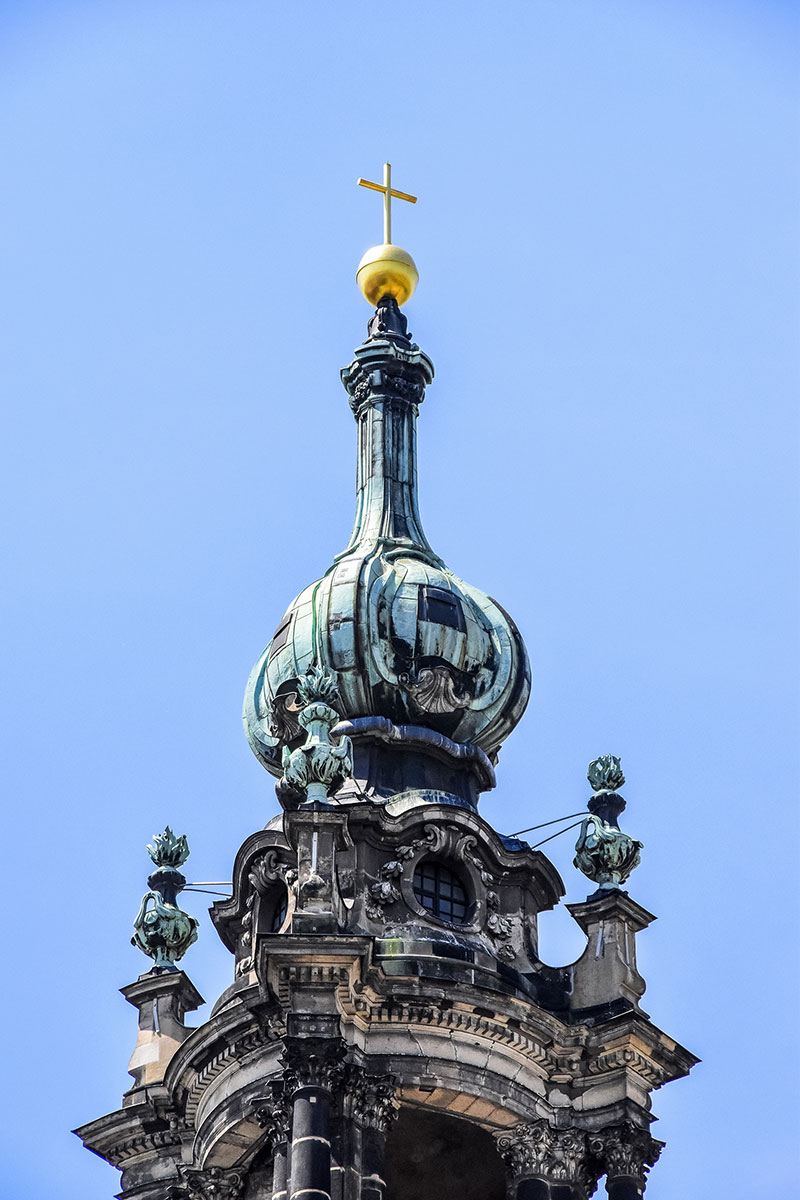 cross atop dome