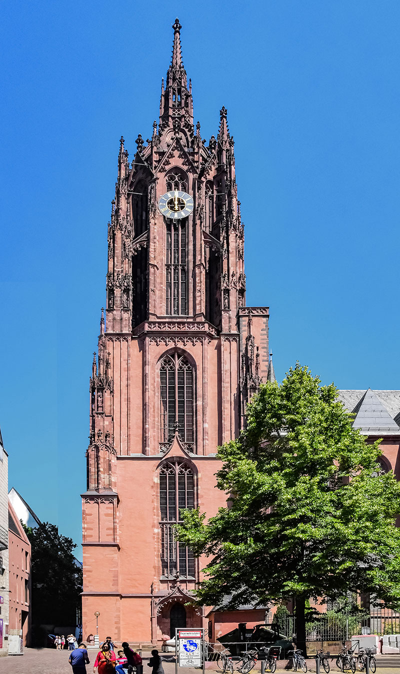 Figure 42 Western Tower Of The Frankfurt Cathedral