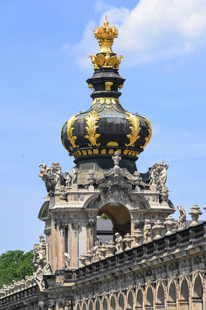 Dresden Castle dome