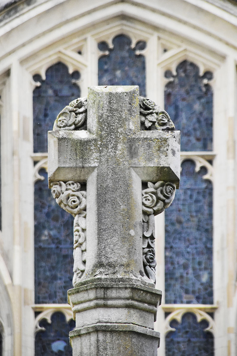 cross at Winchester Cathedral