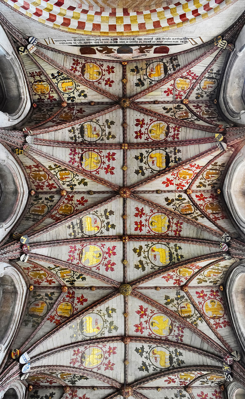 Decorated Vault Ceilings In British Cathedrals
