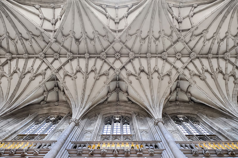 Winchester Cathedral fan vault