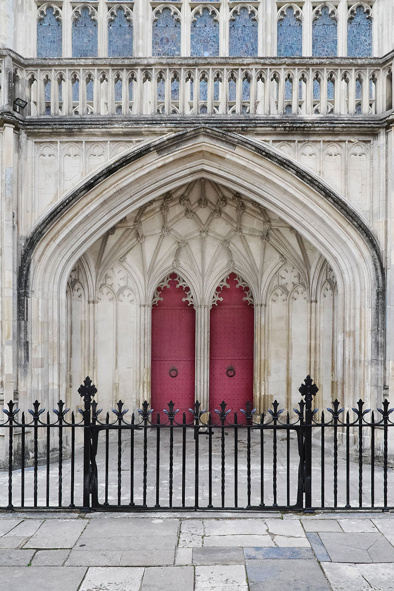 Winchester Cathedral doors