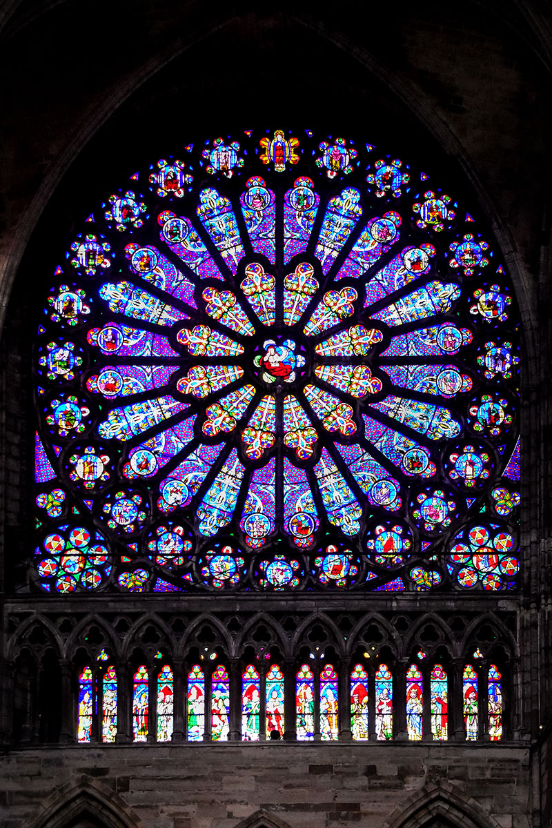 Figure 29 Rose Window Of The Northern Arm Transept