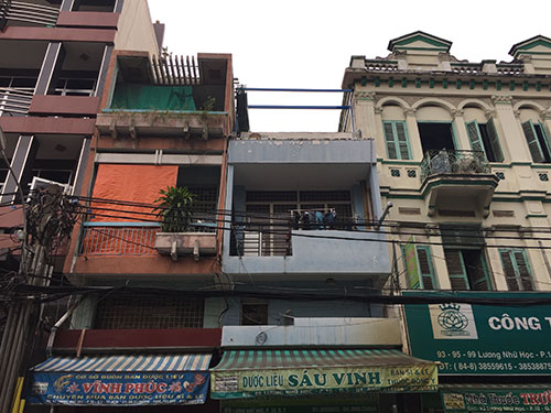 Architectural Layers of a Southeast Asian Region: Vietnam