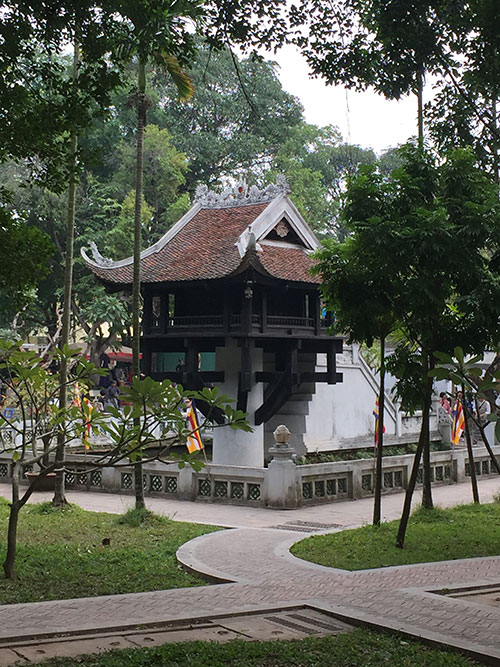 architectural layers of a southeast asian region vietnam and