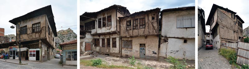 Abandoned buildings in Tokat