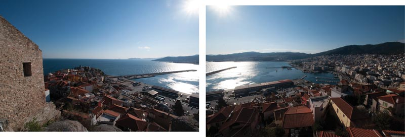 Panorama of Kavala