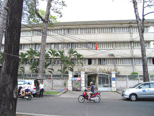 Geological Museum, Ho Chi Minh City, Vietnam