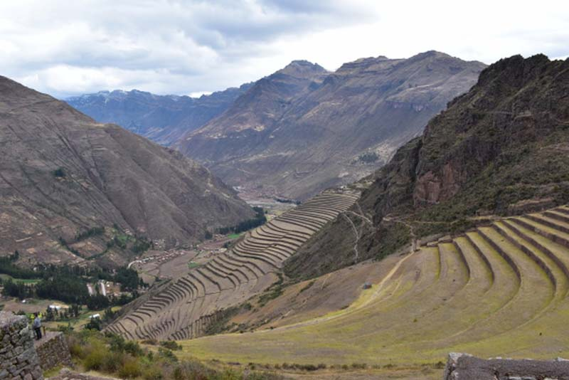 Incan agricultural terraces