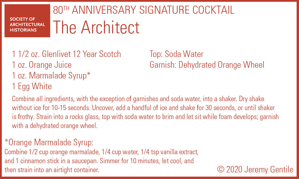 Architect Recipe Card