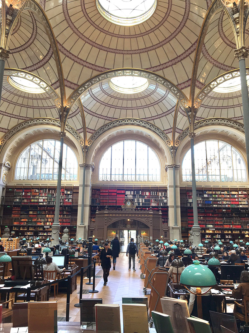10. Labrouste Reading Room