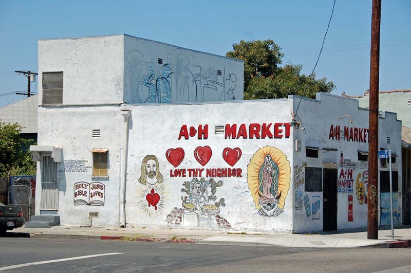 A&H Market, Los Angeles, California, 1905, 1920